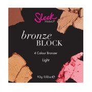Sleek Bronze Block Light 3