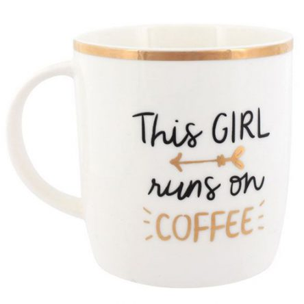 This Girl Runs on Coffee