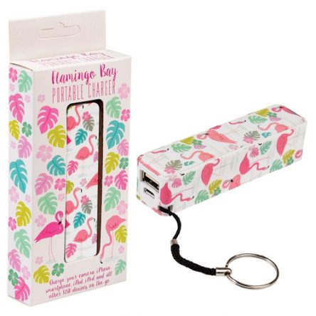 Flamingo Bay Portable Charger