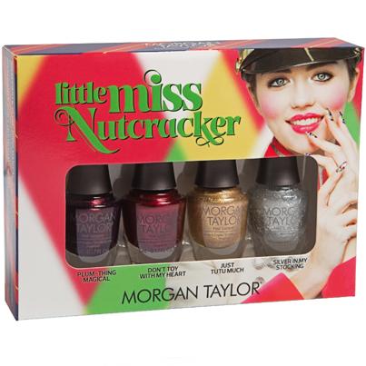 Morgan Taylor Little Miss Nutcracker Mini 4 Pack Miss Gorgeous