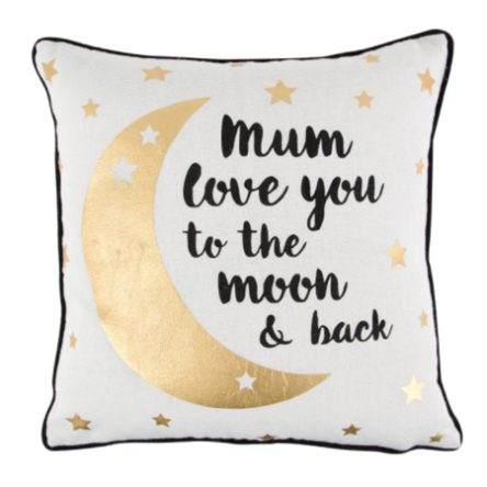 Mum Love You To The Moon and back Kussen