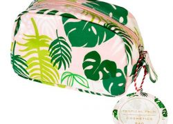 Tropische Palm Make-up bag